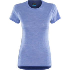 Icebreaker Amplify Low Kurzarm-Rundhalsshirt Damen cove heather